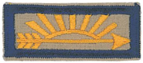 arrow of light patch webelos 4th and 5th grades