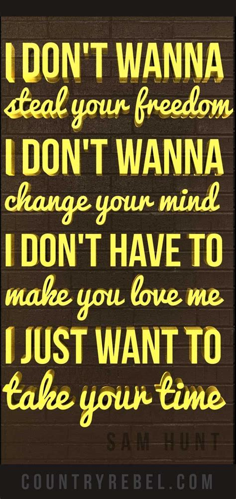 New Country Music Lyric Quotes