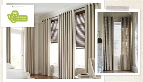 Jcpenney Custom Draperies by Energy Saving Tips Eco Friendly Window Treatments Jcpenney