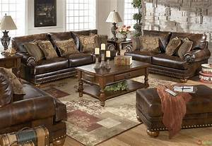 Brown Leather Sofa And Chair Personable Leather Sofa And