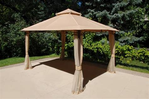 13 x 10 roof style gazebo at menards 174