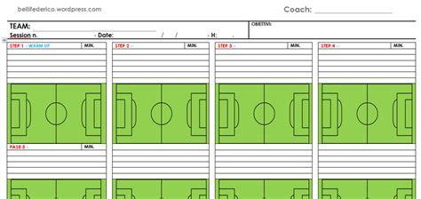 Seduta Di Allenamento Calcio Pianificazione Della Seduta D Allenamento