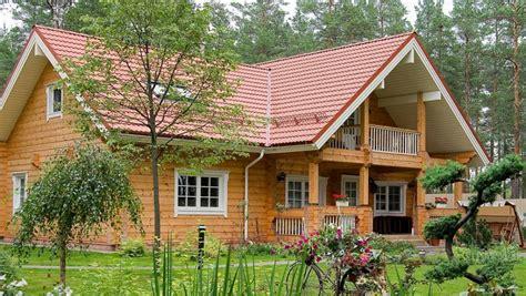 maison en bois finlandaise maison de luxe finlande