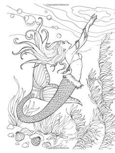 516 best Mermaid Coloring Sheets images on Pinterest