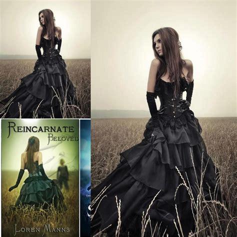 Black Elegant Ball Gowns Masquerade Dress For Halloween