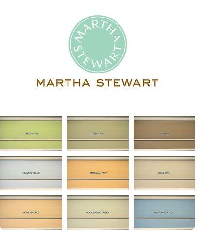 martha stewart paint palette 4 green apple bdd196