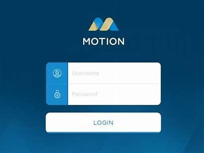 Login App Screen Ipad Dashboard Form User