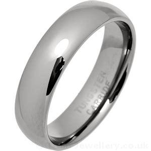 mens mm classic court tungsten carbide wedding ring