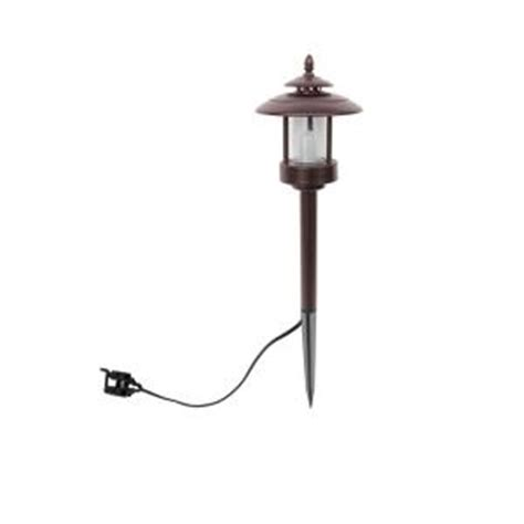 low voltage 1 2 watt remington bronze outdoor integrated