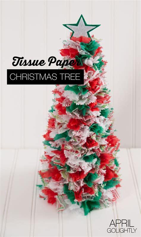 christmas tree tissue paper cone tree craft best 25 paper trees ideas on diy paper tree paper trees and
