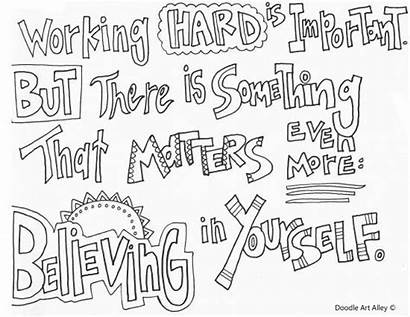 Potter Harry Coloring Pages Quotes Quote Hard