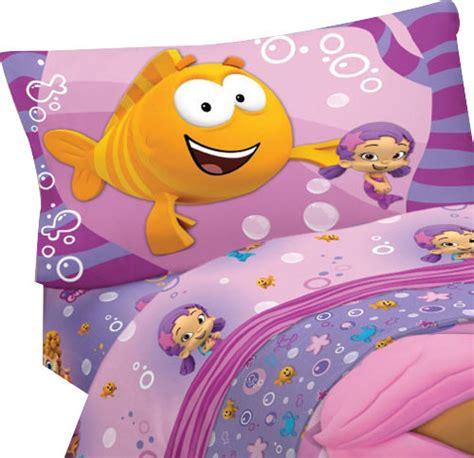 bubble guppies fun  piece twin single bed sheet set