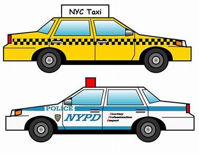 Paper Taxi York Police Template Gumhold Nyc