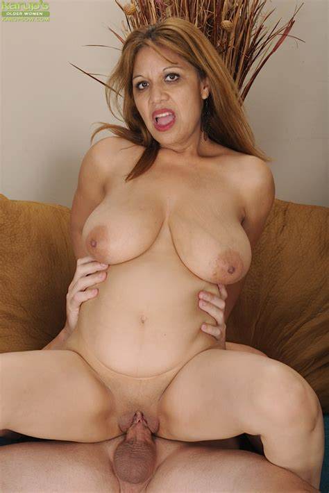 Busty mature Latina Marissa Vazquez riding big cock. - Pichunter