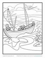 Coloring Paul Pages Bible Sunday Shipwreck Storm Shipwrecked Barnabas Printable Activity Activities Crafts Google Jesus Children Apostle Sheets Silas Story sketch template