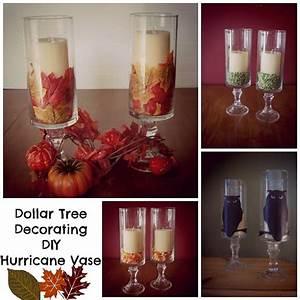 Dollar Tree Decorating DIY :: Hurricane Vase Hurricane