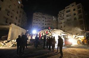 Syria, Russia step up airstrikes against rebel strongholds ...