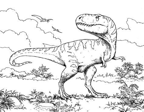 dinosaur coloring pages kids  bestofcoloringcom
