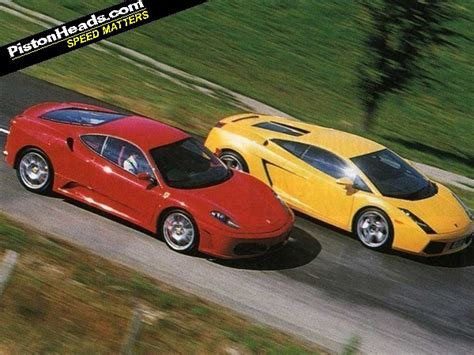 F430 vs Gallardo: Foes Reunited | PistonHeads