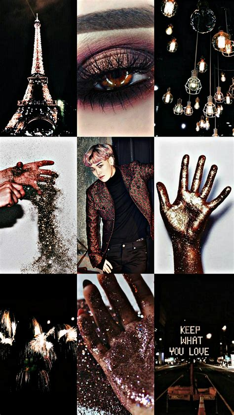 Asthetic Gold Lock Screen Wallpaper by Aesthetic Wallpaper Homescreen Lockscreen Zelo