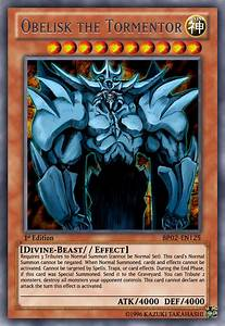 Pin Egyptian God Cards My Version Any Other Yugioh Card ...