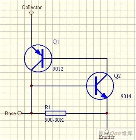 Scr Circuit Diagram With Replacing Transistor Basic