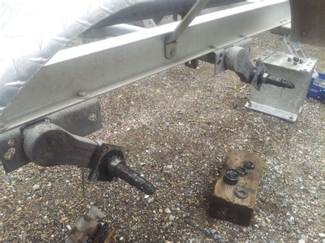 Boat Trailer Axle Repair by Tie Engineering Eliminator Torsion Axle Www