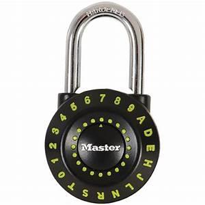 Cadenas à Code : cadenas combinaison alphanum rique 1 15 16 po cadenas ~ Edinachiropracticcenter.com Idées de Décoration