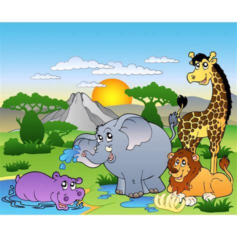stickers enfant g 233 ant animaux de la jungle stickers autocollants