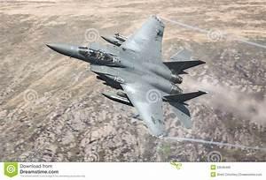 USAF American F15 jet stock image. Image of multipurpose ...
