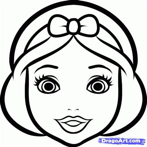 draw snow white easy step  step disney