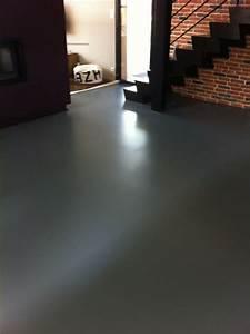 Resine Sol Autolissant : resine sol great kit rsine pour sol soluexpress with ~ Premium-room.com Idées de Décoration