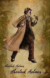 Costume Design For Sherlock Holmes On Behance