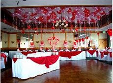 Valentine day table decorations, valentine table