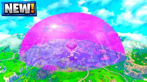 purple cube   fortnite  update