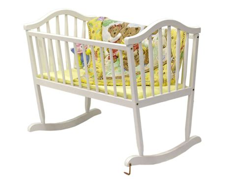 rocking crib for babies on me rocking cradle white baby baby furniture