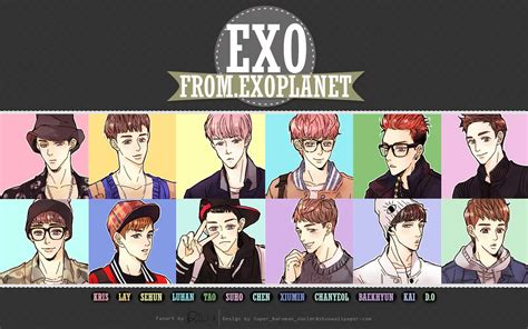 Exo Anime Wallpaper - wallpapers exo chainimage