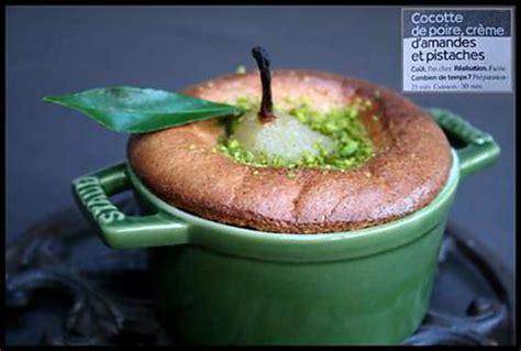 dessert en mini cocotte recette de mini cocottes de poire poch 233 e 233 pic 233 e sur