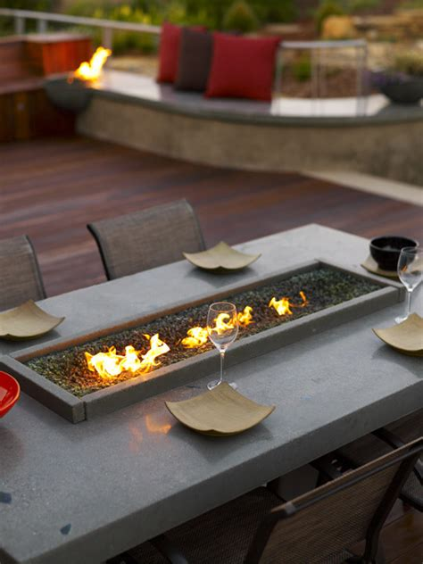 build gas fire table splashy tabletop fire pit in deck beach style with build