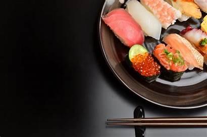 Background Sushi Seafood Fish Japanese Cuisine Caviar