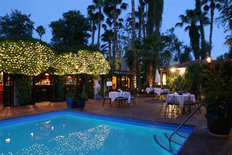 hotel villa royale inn europa restaurant palm springs