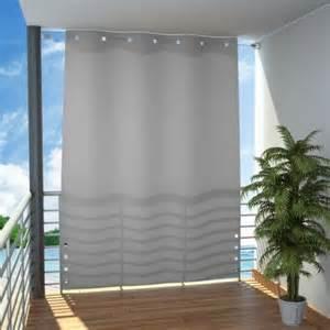 variable trennwand für balkon oder terrasse als sonnenschutz und seitlicher sichtschutz ein - Seitlicher Sichtschutz Balkon