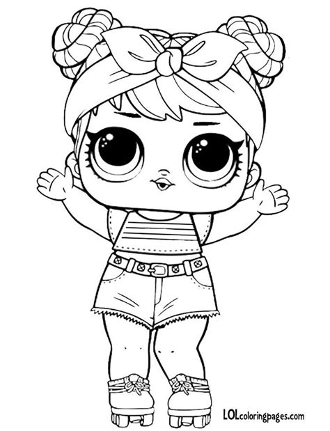 Kleurplaat Lol by Series 3 Lol Doll Coloring Page Cricut Explore