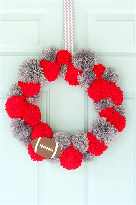 diy football crafts decor  game day resin crafts