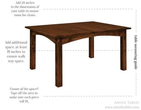 how to choose a dining table size amish tables blog