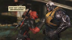 Deadpool Game Cable