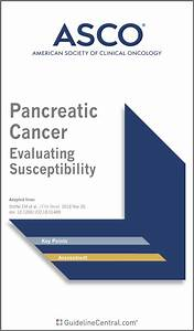 Pancreatic Cancer Evaluating Susceptibility Guidelines