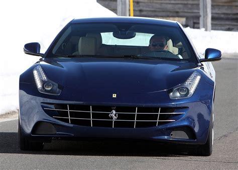ferrari front view ferrari ff blue front view car pictures images