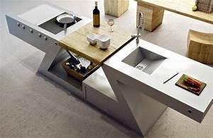 Kitchenette Pour Bureau : meuble kitchenette de design italien pour int rieur et ~ Premium-room.com Idées de Décoration