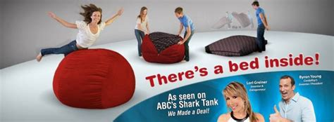 cordaroys bean bag bed cordaroy s beanbag bed on shark tank s